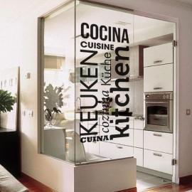 """Vinilo decorativo cocina """"Kitchen"""""""