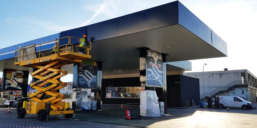 Restyling estacion de servicio Valencia